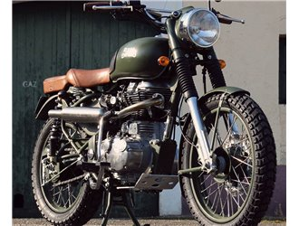 Engine protection for Royal Enfield Bullet / Classic
