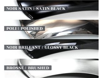 Caches latéraux en aluminium pour Triumph (2016-...)