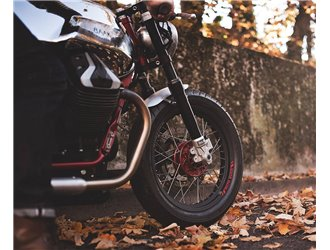 Fourche Öhlins pour Moto Guzzi V7