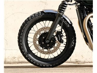 Classic Medium front mudguard for Triumph