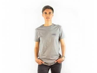 "T-shirt Welcome BAAK ""Grey"""