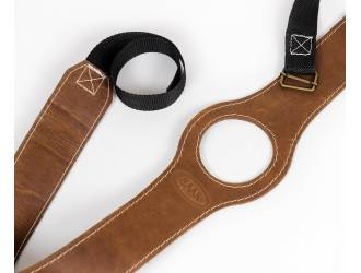Leather gas tank strap for...