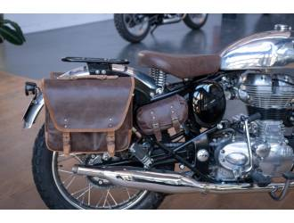 Demo saddlebag - this leather color isn't available.
