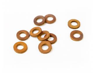 Leather washers for...